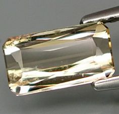 1.05 ct Natural champagne yellow Tourmaline loose gemstone available on www.buygems.org #gemstone #tourmaline #gems #mineral #jewelry #luxury #buygems