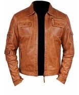 Description Real Leather Handmade Made to order The jacket is made of grade A leather. YKK zippers used High quality lining with pocket Windproof suitable for all weather conditions. Lambskin Leather, Tan Leather, Custom Leather Jackets, Leather Pattern, Brown Fashion, Moto Jacket, Wax, Celebrities, Handmade