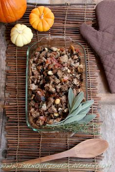 Gourmet Keto Thanksgiving Stuffing  and Holiday Survival Tips | The Nourished Caveman