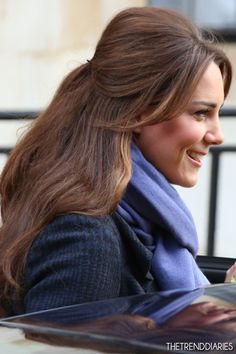 Kate Middleton at King Edward VII Hospital in London, England - December 6, 2012