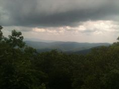 The view from Blood Mountain