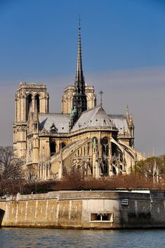 Notre Dame Cathedral, one of the most beautiful Gothic churches in the world!