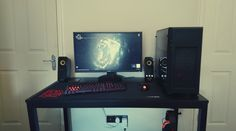 Geekus Maximus: Dabbled at cable management...