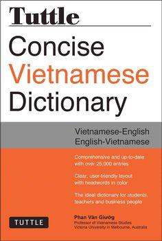 Tuttle Concise Vietnamese Dictionary: Vietnamese-English / English-Vietnamese