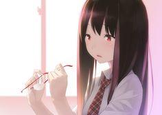 Image for Anime Girl Wallpaper Kawaii Glasses