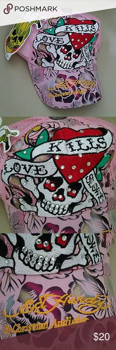 Ed Hardy by Christian Andigier Love Kills Slowly hats Ed Hardy Accessories Hats