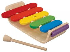 There isn't a child around that doesn't love music, and this iconic Oval Xylophone from Plan Toys is a perfect introduction instrument! Wooden Educational Toys, Play Shop, Plan Toys, Creative Skills, Classic Toys, Cool Baby Stuff, Cool Toys, Wooden Toys, How To Plan