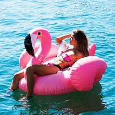 Super gave opblaas Flamingo! Ook te verkrijgen bij opblaasbareartikelen.nl