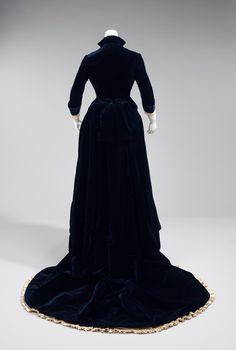 molena: бальные и вечерние платья 1880-1890 гг из коллекции Metropolitan Museum