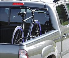 Keep Bikes Upright And Off To The Sides Of Your Pickup