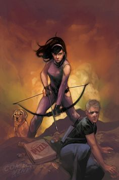 All-New Hawkeye No. 5 Cover Featuring Kate Bishop, Hawkeye Marvel Comics Poster - 30 x 46 cm Avengers Comics, New Avengers, Marvel Heroes, Hawkeye Marvel, Marvel Art, Kate Bishop Hawkeye, Phil Noto, The Wicked The Divine, Dc Comics Women