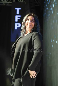 #PoojaBhatt at the Telenor Pakistan Fashion Week #TFPW15. She was the show stopper for renowned Pakistani designer #deepakperwani