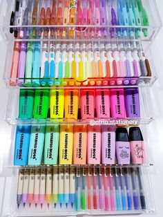 Click the link to see all popular pens .- Klicken Sie auf den Link, um alle gängigen Stifte… – Click the link to see all popular pens … – common # - Stationary School, School Stationery, Cute Stationery, Notebook Stationery, Diy Notebook, Stationery Shop, Craft Closet Organization, Stationary Organization, Stationary Supplies