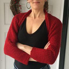 Very simple knit shrug