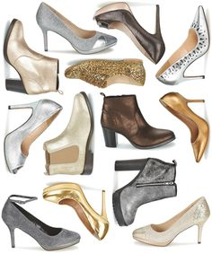 abbzzw | personal style and lifestyle blog: metallic shoe shopping