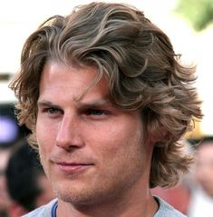 Long Wavy Hair Men - Best Wavy Hairstyles For Men: Hot Wavy Hair Guys - Short, Medium and Long Wavy Haircuts, Fade, Undercut, Quiff Haircuts For Wavy Hair, Wavy Hair Men, Long Wavy Hair, Long Hair Cuts, Hairstyles Haircuts, Haircuts For Men, Layered Haircuts, Haircut Men, Short Wavy