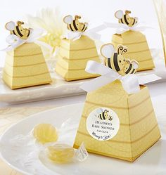 Personalized Beehive Favor Boxes - Favor Packaging and Containers