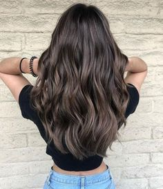 40 Perfect Long Wavy Hairstyles For Women 40 Perfect Long Wavy . - 40 Perfect Long Wavy Hairstyles For Women 40 Perfect Long Wavy … - Short Hair Cuts For Women, Short Hair Styles, Hair Color For Women, Long Hair Cuts, Hair Pictures, Hairstyles Pictures, Brown Hair Colors, Dark Ash Brown Hair, Ash Brown Highlights