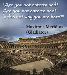 'Gladiator' movie quote