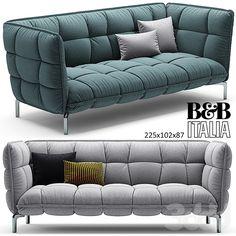 Диван HUSK sofa B&B Italia 225