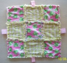 Raggedy Taggy Baby Blankie
