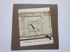 Happy Fathers Day Card  Handmade Fathers Day Card  by ElodiesShop, $4.50