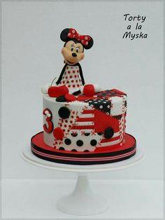 Minnie patwork cake