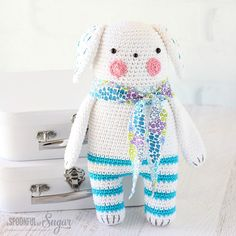 Gudule is an amigurumi crochet design from the book, Tendre Crochet by Tournicote.