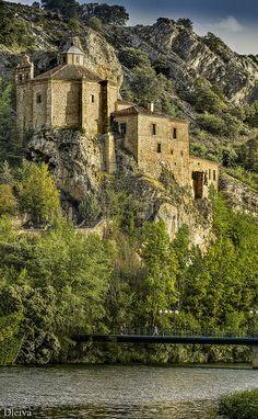 Ermita de San Saturio  Soria ,  #CastillayLeon #Spain