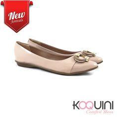 Hoje vamos de #sapatilha nude e você? #koquini #comfortshoes #euquero Compre Online: http://koqu.in/2dNNHTm