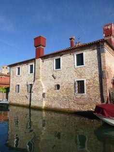 Het eiland Torcello in de Lagune bij Venetië
