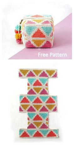 Best 12 This tapestry crochet bag pattern includes tutorials (written and video) for sewing a lining inside a crochet bag. Check out this free crochet pattern and tutorials! Pattern by Loops and Love Crochet. Bonnet Crochet, Crochet Pouch, Wire Crochet, Crochet Crafts, Crochet Projects, Crochet Ideas, Crochet Bags, Crochet Flowers, Crochet Handbags