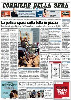 Il Corriere della Sera (17-08-13) Italian | True PDF | 68 pages | 16,18 Mb