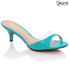 Low Heeled Sandals are mended with man made synthetic material. These having kitten type heels and elegant colors are the best sandals to be worn with different outfits stuffs.