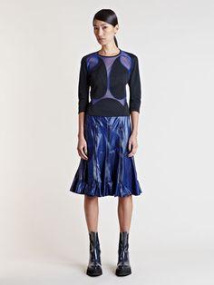 Comme Des Garcons Junya Watanabe Women's Ester Mesh Shirt