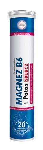 Magnesium B6   Potassium Contraction x 20 effervescent tablets