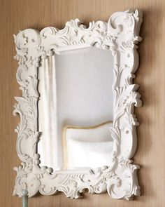 Baroque-Style Mirror - Horchow #white