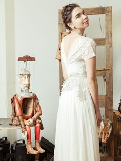 The Pajac bodice with our Rosika skirt.