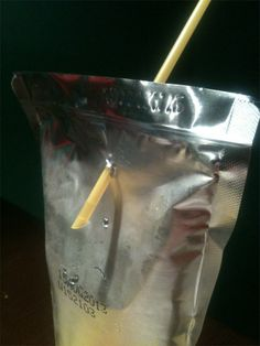 Having this disaster happen when trying to put your straw into your Capri Sun. | 27 Struggles That Were All Too Real To '90s Kids