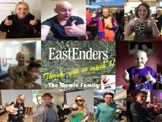 Thanks to the wonderful people from Eastenders supporting our #thumbsupforstace