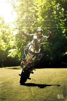 Wheelie Stunt bike