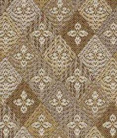 Robert Allen Fleur Diamond Fawn Fabric