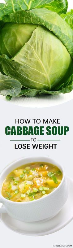 Eating is easy. Losing weight is fast tough. But a weight loss cabbage soup diet is one best way. So use cabbage soup recipe for weight loss, go easy thinning down and stay healthy. Weight Loss Soup, Weight Loss Meals, Weight Watchers Meals, Colon Cleanse Weight Loss, Weight Loss Drinks, Atkins Recipes, Diet Recipes, Cooking Recipes, Healthy Recipes