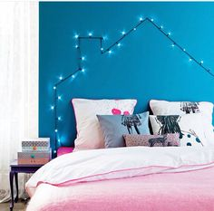 I'm defo doing the house lights but in a lighter wire colour, need to look for dusky pink or grey..