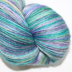 4ply British wool and nylon in Silver Sage