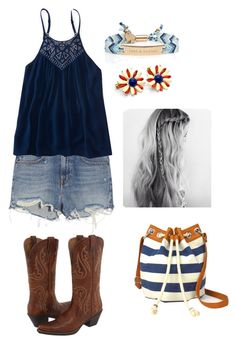 """""""Untitled #254"""" by rikey-byrnes on Polyvore featuring Alexander Wang, Aéropostale, Ariat, Kate Spade and Arizona"""