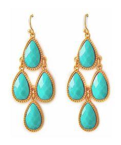Pretty chandelier earrings