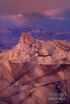 ✯ Dawn at Zabriski Point - Death Valley National Park, California