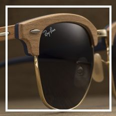 Clubmaster Wood Oculos Esportivos, Óculos Ray Ban, Homens De Óculos, Oculos  De Sol 09c9edfb19