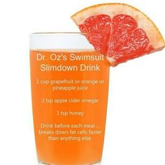 fat burning drink for before each meal to break down fat cells